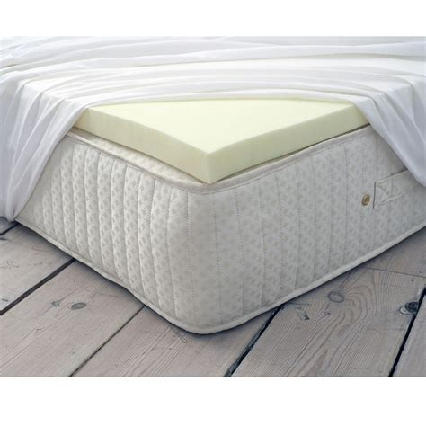 memory foam mattress topper memory foam mattress soft topper zip up ebay