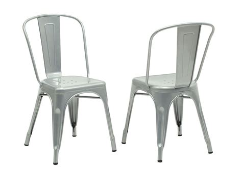 monarch specialties dining chair 2pcs 33 quot h silver