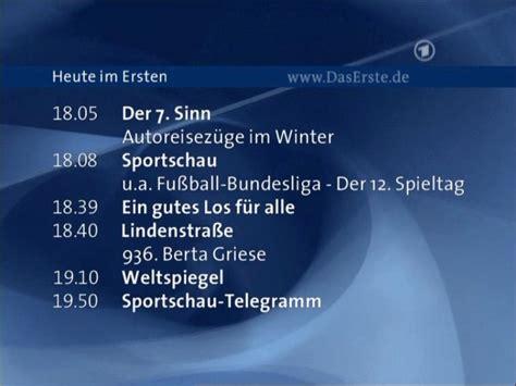 deutschland  news ard programm heute