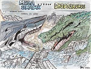 MEGA SHARK vs CROCOSAURUS Poster by AVGK04 on DeviantArt