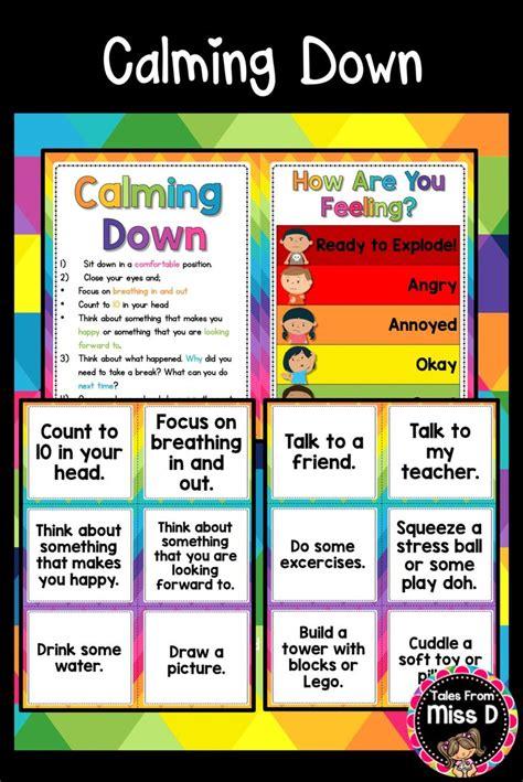 calm  kit calm  kit feelings chart calm