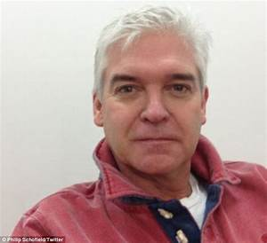 Phillip Schofield shares a picture after stripping himself ...