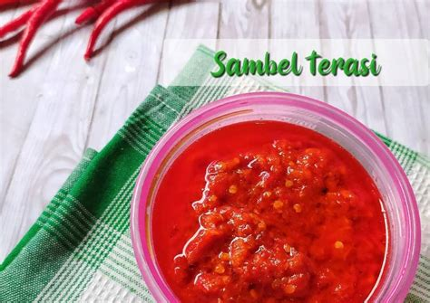 Resep cara membuat sambal terasi pedas nikmat. Resep Sambal Dadakan Enak : Resep Sambal Goang Sunda Paling Enak Original Sambal Dadakan Youtube ...