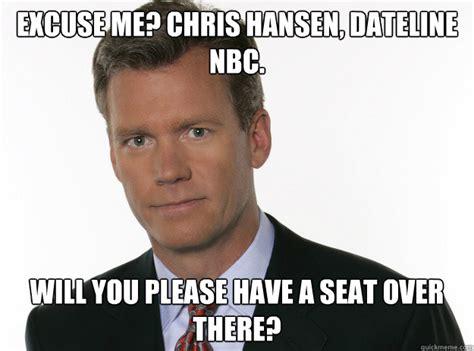 Chris Hansen Meme - how to catch a predator meme memes
