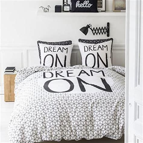 chambre ado stylé housse de couette ado adolescent linge de lit housse