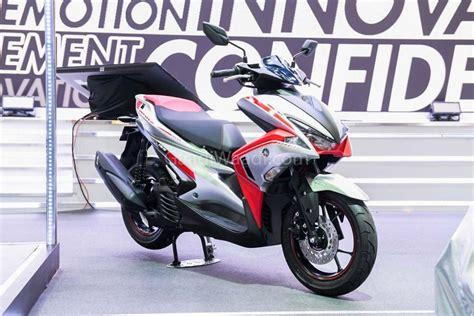 Yamaha Aerox 155vva 2019 by Yamaha Aerox 155cc Scooter Graces 2019 Bangkok Motor Show