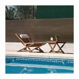 Brise Vue 400g M2 : toile brise vue marron 120 g m2 70 occultant diff rentes longueurs et hauteurs brycus ~ Melissatoandfro.com Idées de Décoration