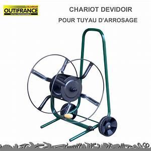 Dévidoir Tuyau D Arrosage : chariot d vidoir pour tuyau d 39 arrosage outifrance 8920170 ~ Dailycaller-alerts.com Idées de Décoration