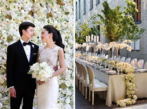 this classic all white wedding spans two philly art museums