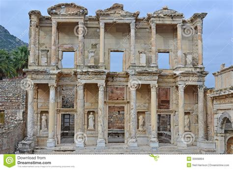 Library Of Celsus Turkey, Check Out Library Of Celsus