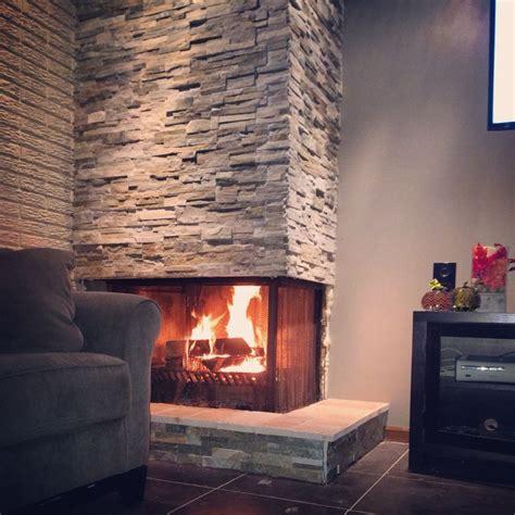 diy fireplace home depot stacked stone diy fireplace base