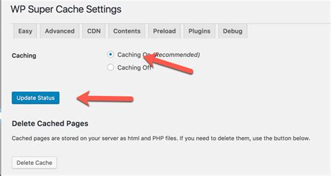 Wp Super Cache Plugin Settings & Configuration Guide To Use In 2018