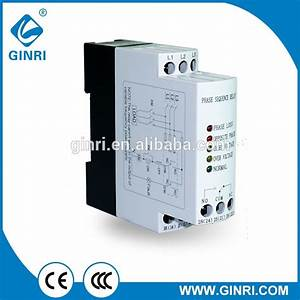 Ginri 3 Phase Power Monitor Relay Jvrd Over Voltage