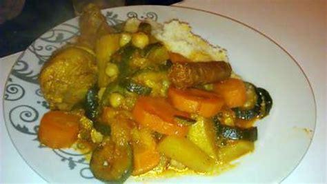 recette de cuisine familiale recette de couscous familiale au petits légume