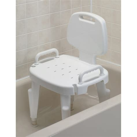 shower chair maxiaids adjustable shower seat with arms and back