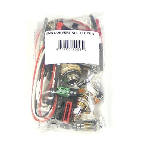 Emg Pickup Gibson Style Complete Active Wiring Kit