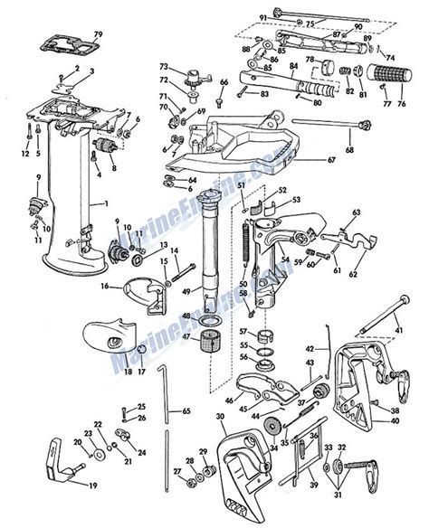 Mercury Outboard Motor Parts In Canada by Mercury Outboard Motor Parts Canada Impremedia Net