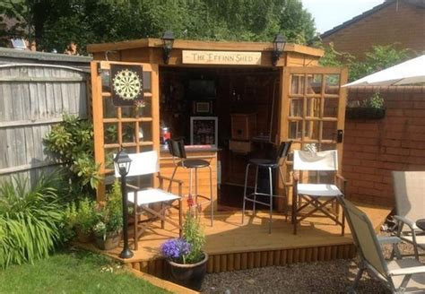 Backyard Pub by Forget Caves Backyard Bar Sheds Are The New Trend