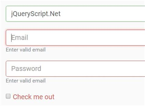 easy form validation plugin for bootstrap 4 jquery s validatejs free jquery plugins