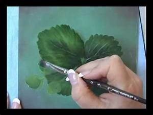 Acrylic Painting Techniques - How to Paint Leaves - Dry ...
