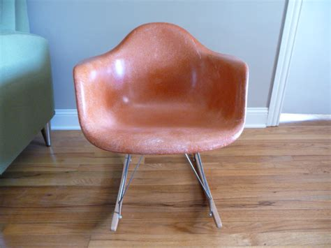 eames fiberglass shell chair restoration project mid