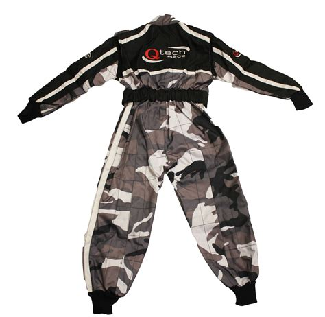 camo motocross childrens kids camo race suit overalls karting motocross