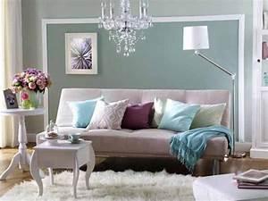 Wohnzimmer Farbe Gestaltung : wunderbare wandgestaltung im wohnzimmer ~ Markanthonyermac.com Haus und Dekorationen