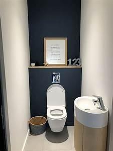 idee deco wc suspendu deco maison pinterest deco wc With deco dans les toilettes
