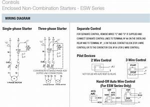 Square D 3 Phase Motor Starter Wiring Diagram
