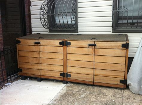 trash can storage cabinet weatherproof outside storage cabinets for your garden
