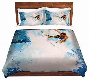 Housse De Couette Surf : dianoche microfiber duvet covers catch the next wave ~ Teatrodelosmanantiales.com Idées de Décoration