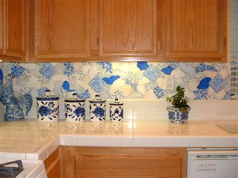 Kitchen Murals - Hand-Painted Kitchen Wall Murals - Borders