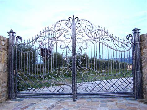 decor rod iron gates design wrought iron gate