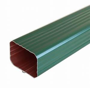Descente De Gouttière Alu Rectangulaire : tube de descente aluminium rectangulaire 60 x 80 mm ~ Dailycaller-alerts.com Idées de Décoration