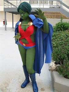 Female Martian Manhunter (not the same thing as wearing a ...