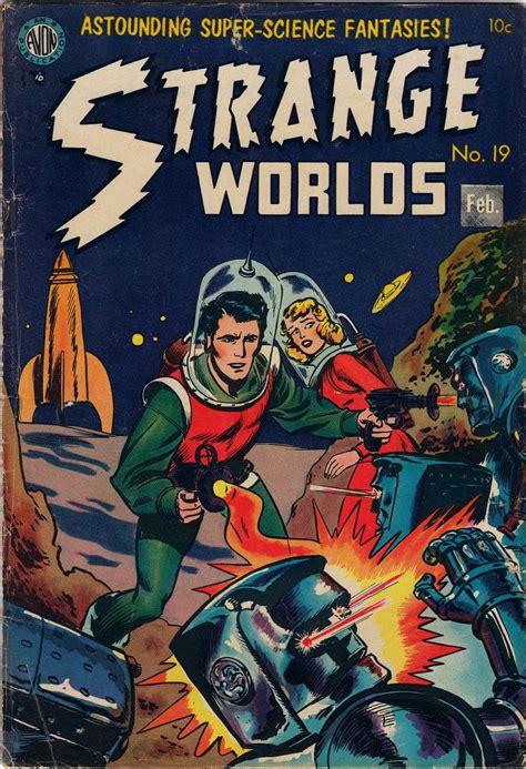Strange Worlds #19 (avon Periodicals)  Comic Book Plus