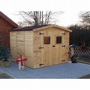 Abri De Jardin Bois 6m2 : abri de jardin en bois d 39 pic a de abri de jardin pas cher ~ Farleysfitness.com Idées de Décoration