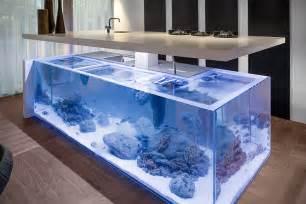 design badezimmer luxus kitchen aquarium island hiconsumption