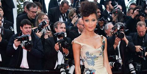 Newton also revealed in the interview that she is publicly reclaiming her birth name, melanie newton's name was misspelled as thandie in the credits for her debut film flirting in 1991, and it. Thandie Newton Wears Every Black Star Wars Character On ...
