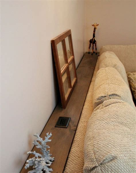 sofa table with outlet make it diy sofa table with outlets diy sofa table diy