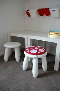 Ikea Mammut Stuhl : toadstool cushion red children kids cushion for ikea mammut stool chair stools playrooms ~ Watch28wear.com Haus und Dekorationen