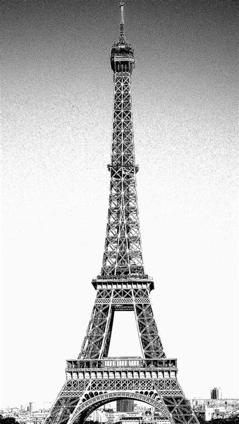 Black Wallpaper Iphone Eiffel Tower by Iphone 5 Eiffel Tower Wallpaper Iphone Wallpaper