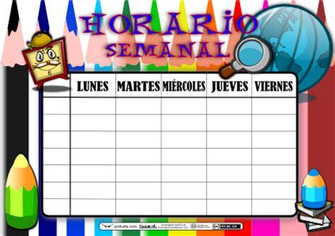 """Crear """" Horarios Escolares """" Con Inkscape Actiludis"""