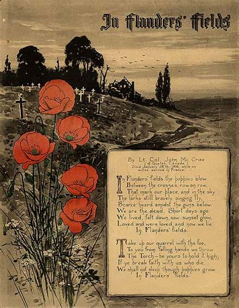 warmuseum ca remembrance day the remembrance day poppy in flanders fields poem