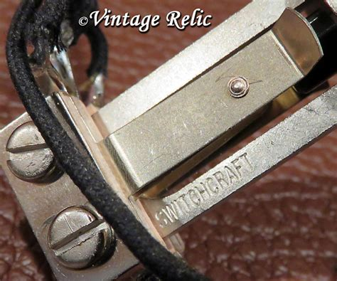 Wired Toggle Switch Way Switchcraft Usa Gibson Les