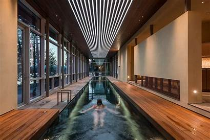 Lap Pools Pool Indoor Designs Modern Strip
