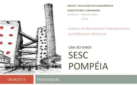 foto de Sesc Pompeia Lina Bo Bardi (Estudo de Caso)