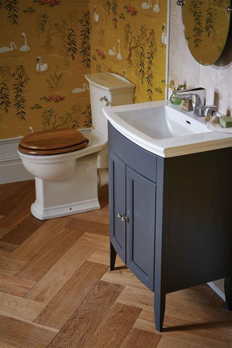 heritage caversham graphite vanity unit  blenheim basin