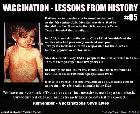 Vaccination Memes - before vaccines measles common yes mild no