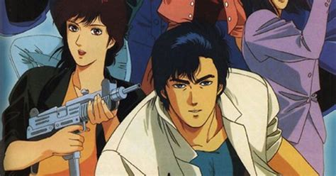 city hunter manga  french  action film  philippe